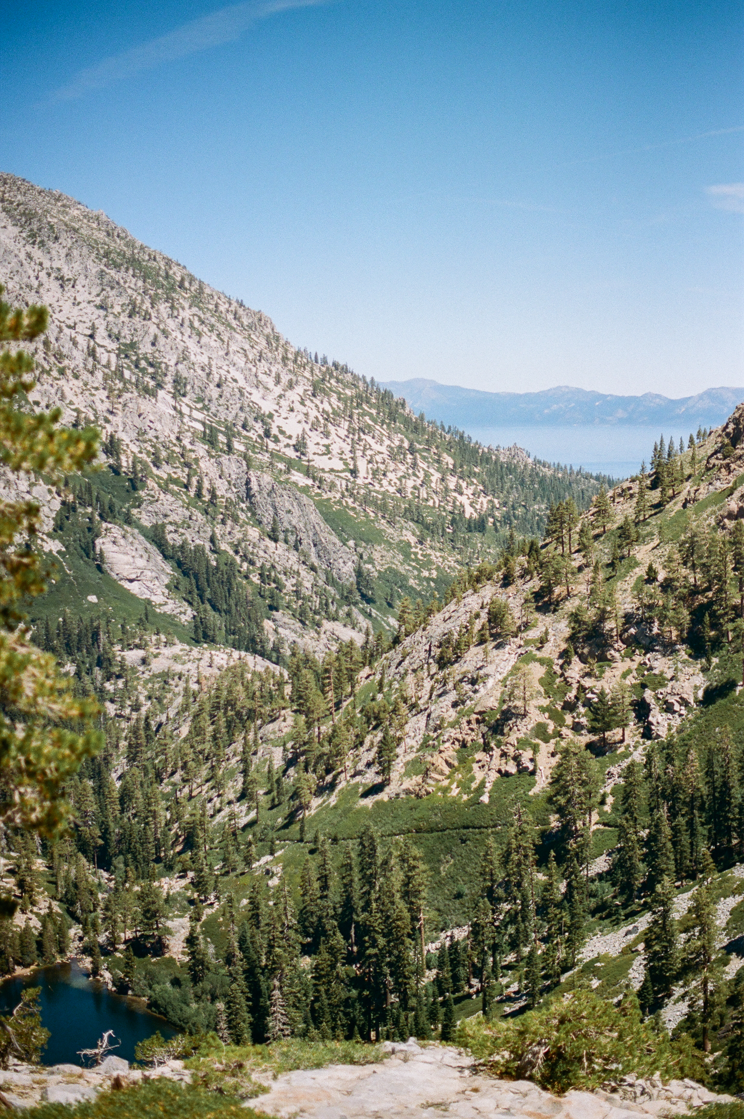 View of Eagle Lake & Lake Tahoe