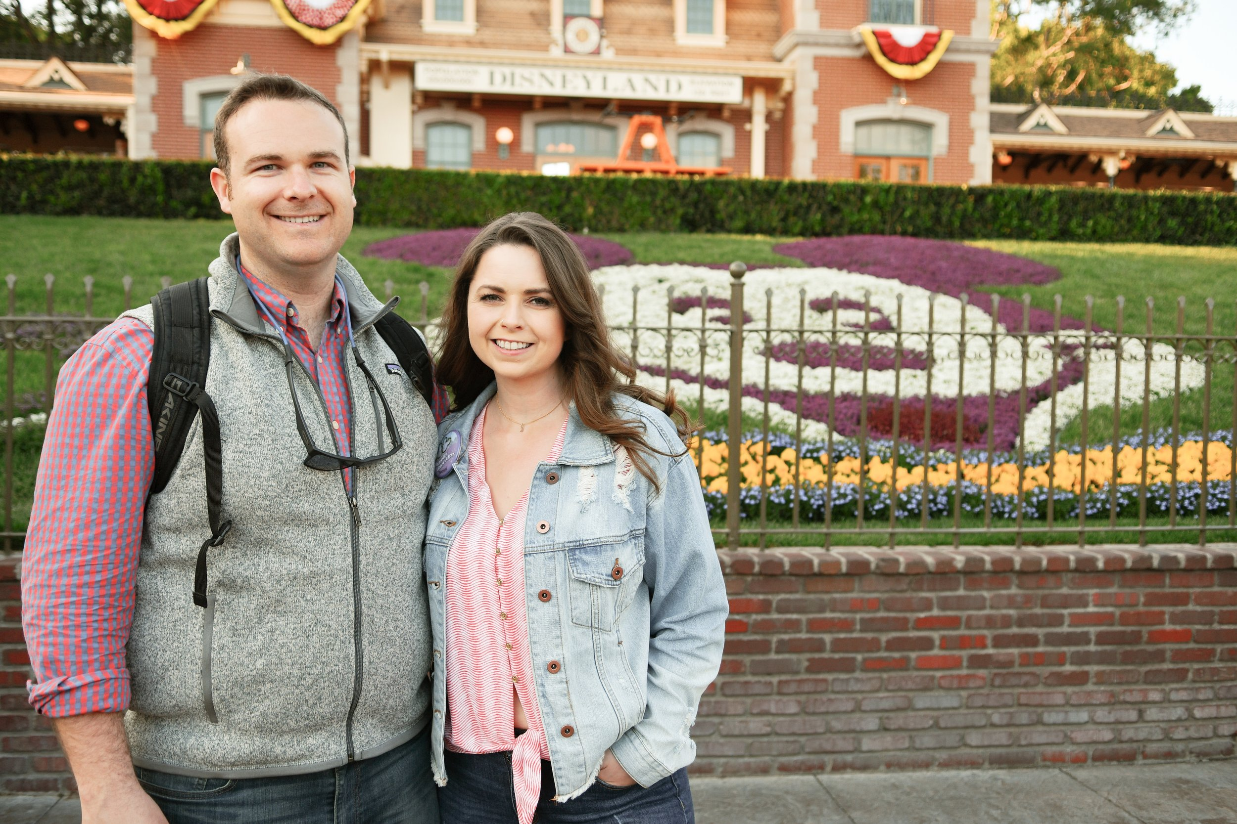 One of our photos taken by a Disneyland photographer.