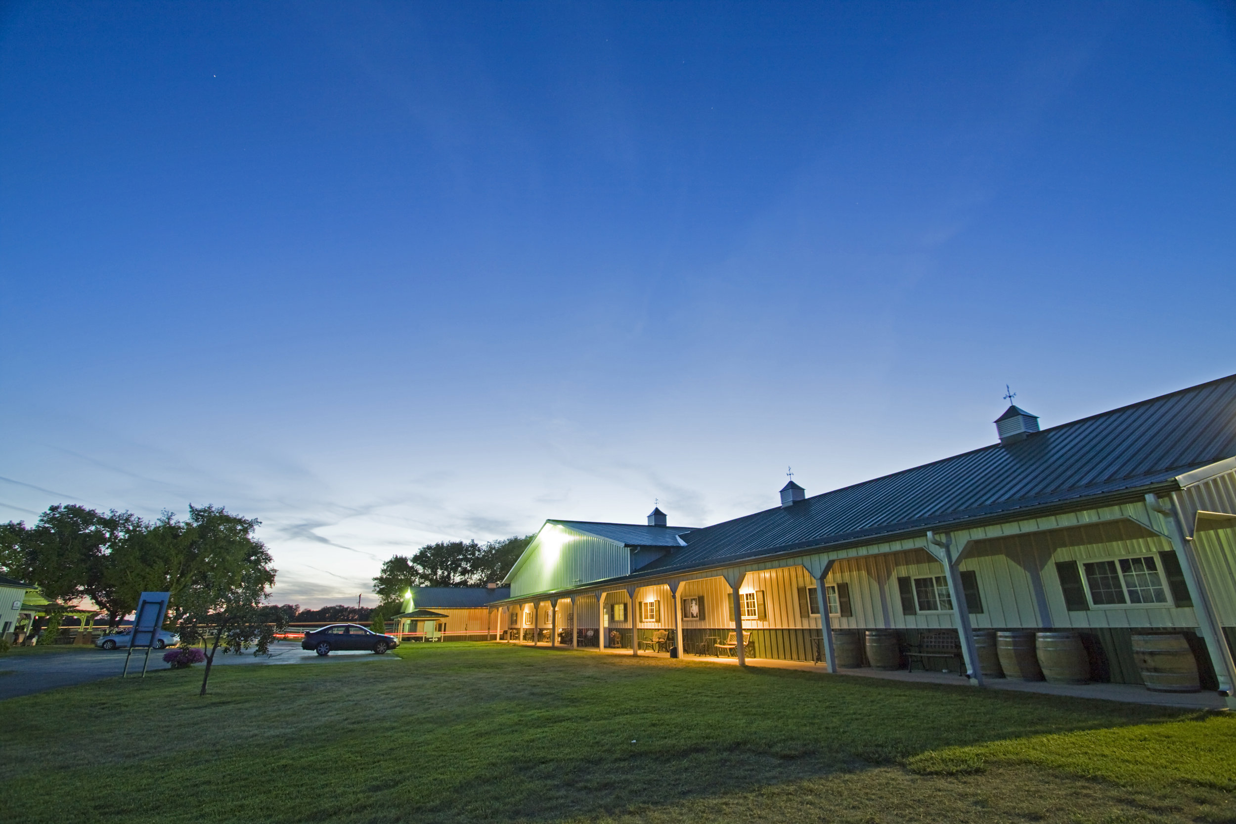 THE GRAND STABLES EVENT CENTER -