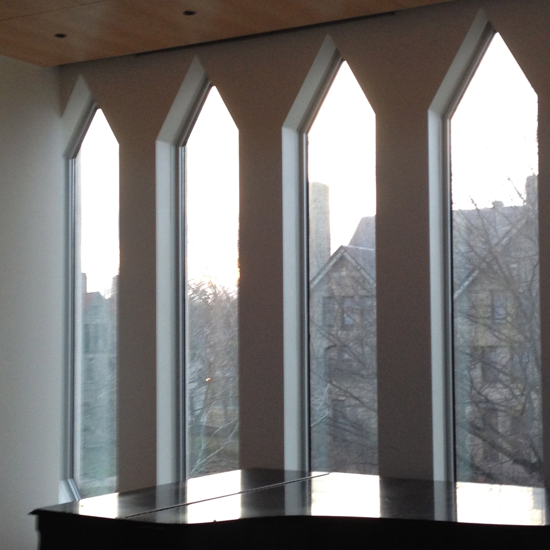 Oberlin has the best windows.