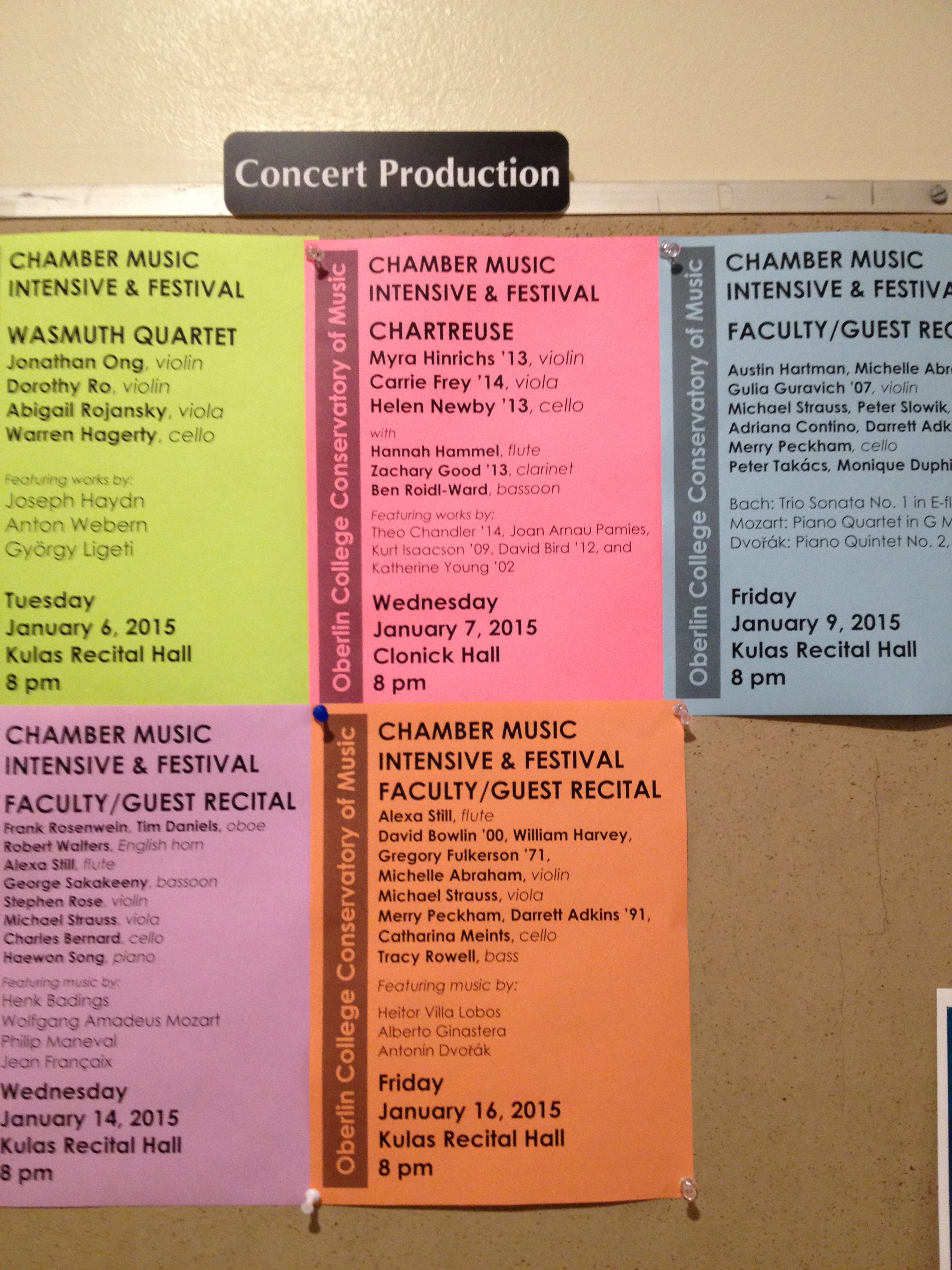 Posters by Concert Productions