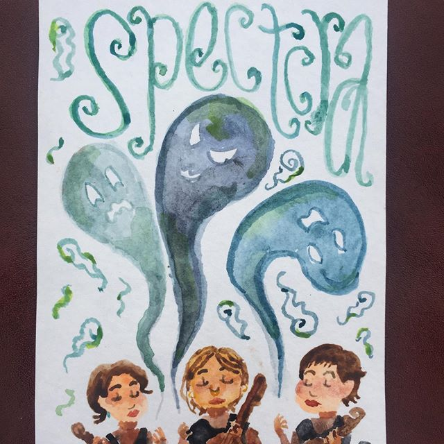 Art by @_simone_alexa_ inspired by @annathorvalds piece, Spectra!