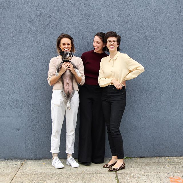 @garyberrytheterry is excited about our concert tomorrow and so should you! Come to @bloomingdale_music at 6:30 pm for #trios by Andrew Norman, @amybguitar, and Anna Thorvaldsdottir! 📸 @emmamohalloran ! . . #newmusic #cutedogs #dogsofinstagram #schnauzer? #chartreuse #communitymusic