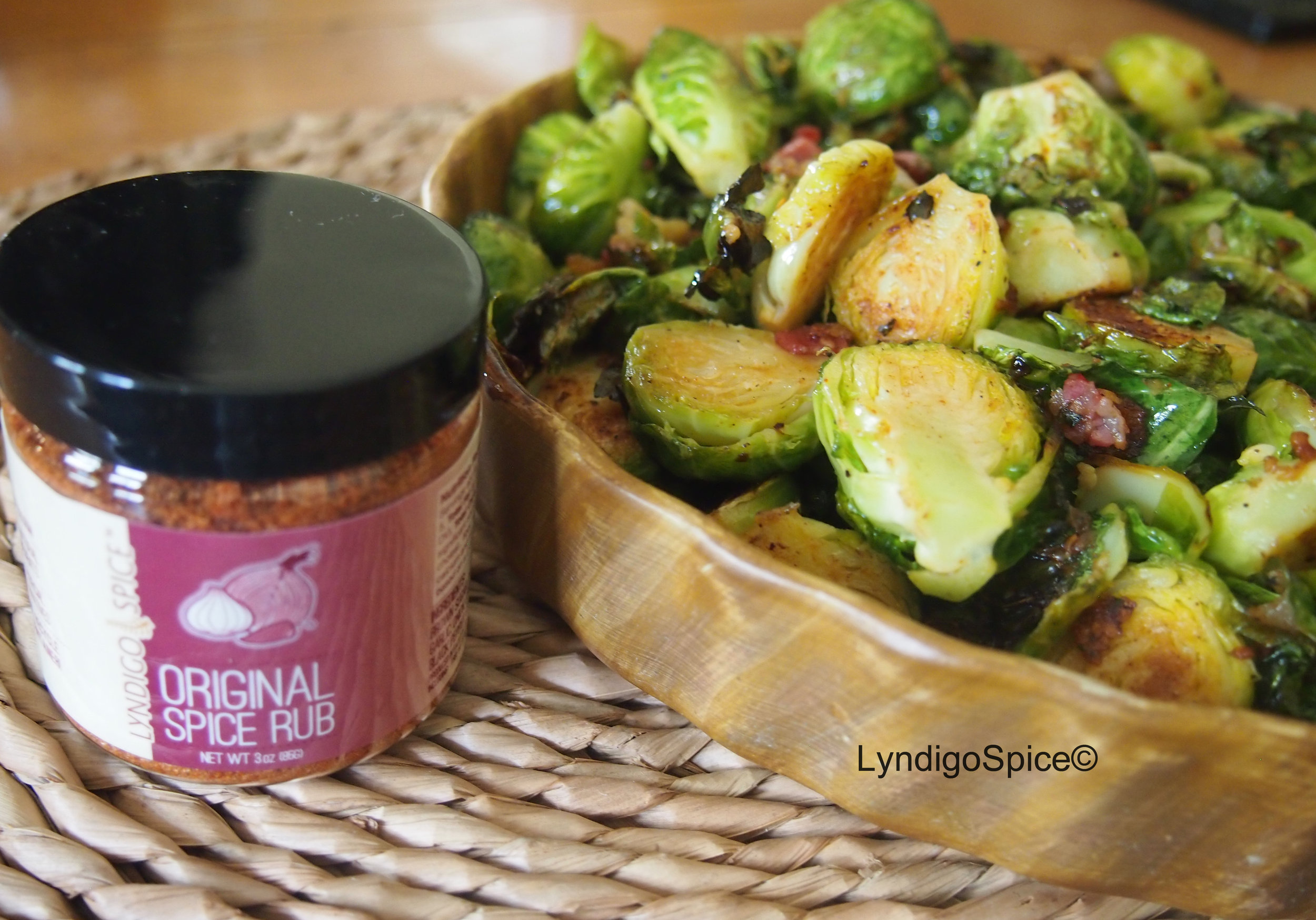 Lyndigo Spice® Roasted Brussel Sprouts