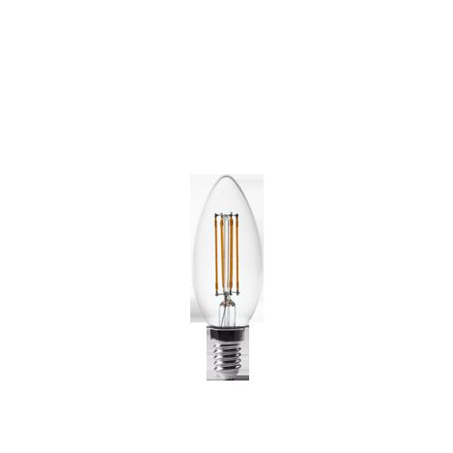 2W candle filament bulb