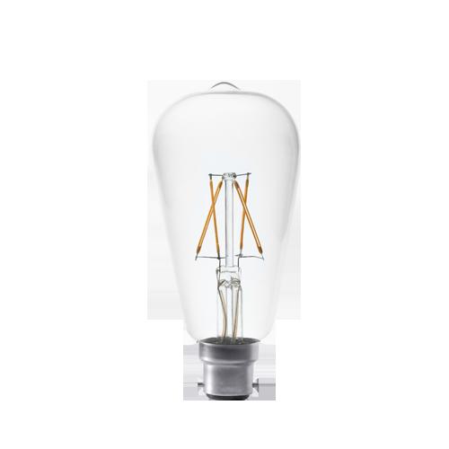 2W large filament bulb