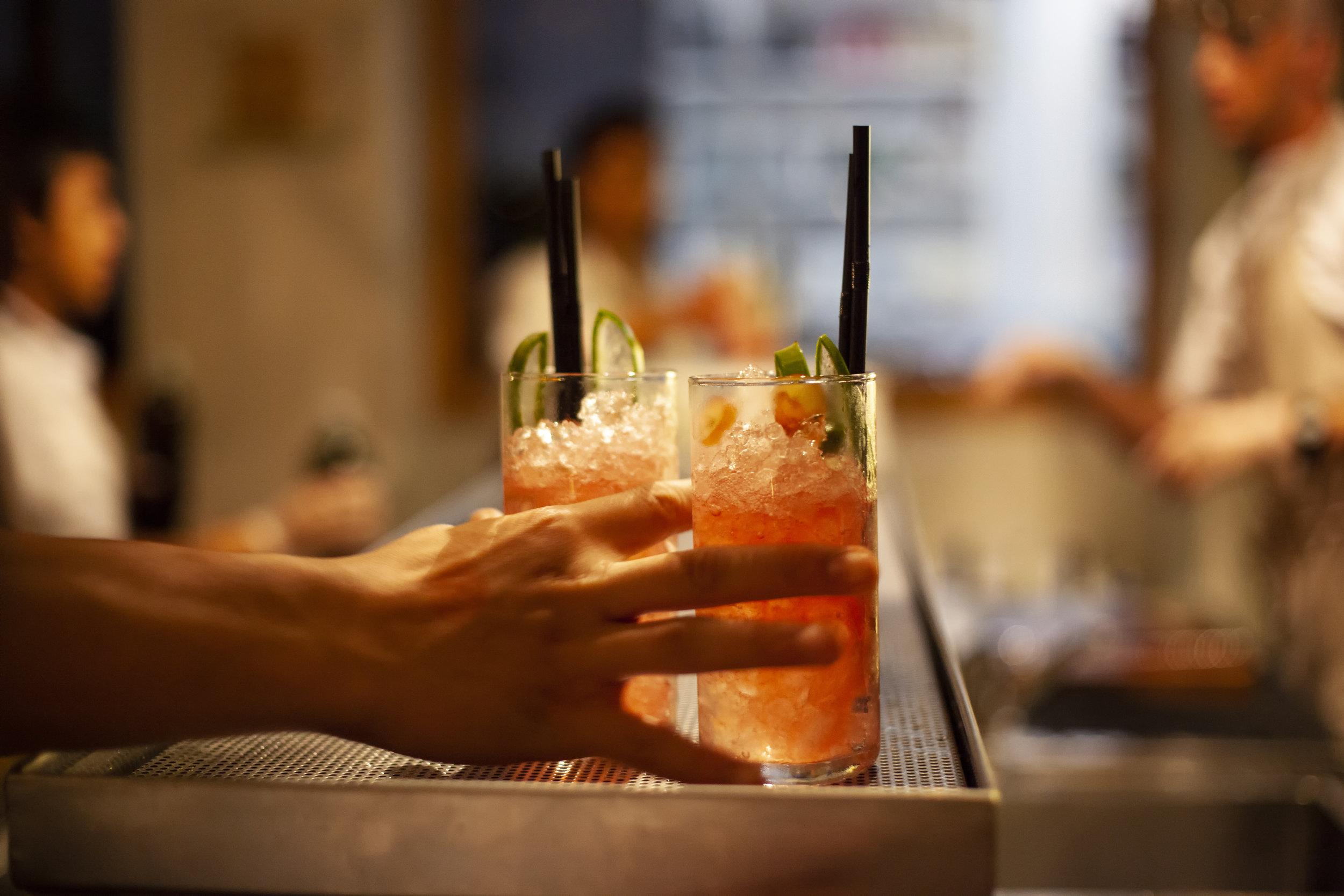 Custom Drink Menus -