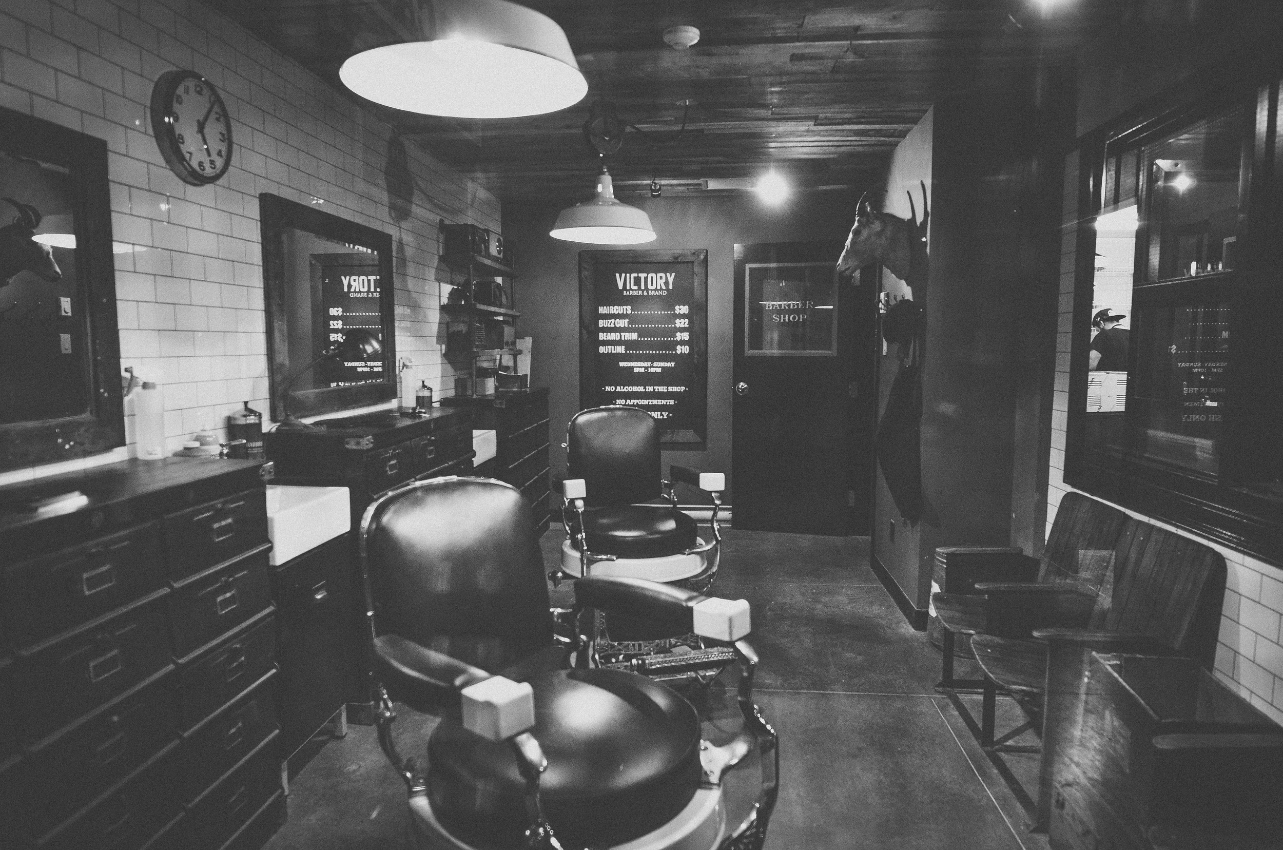 Victory Barber & Brand