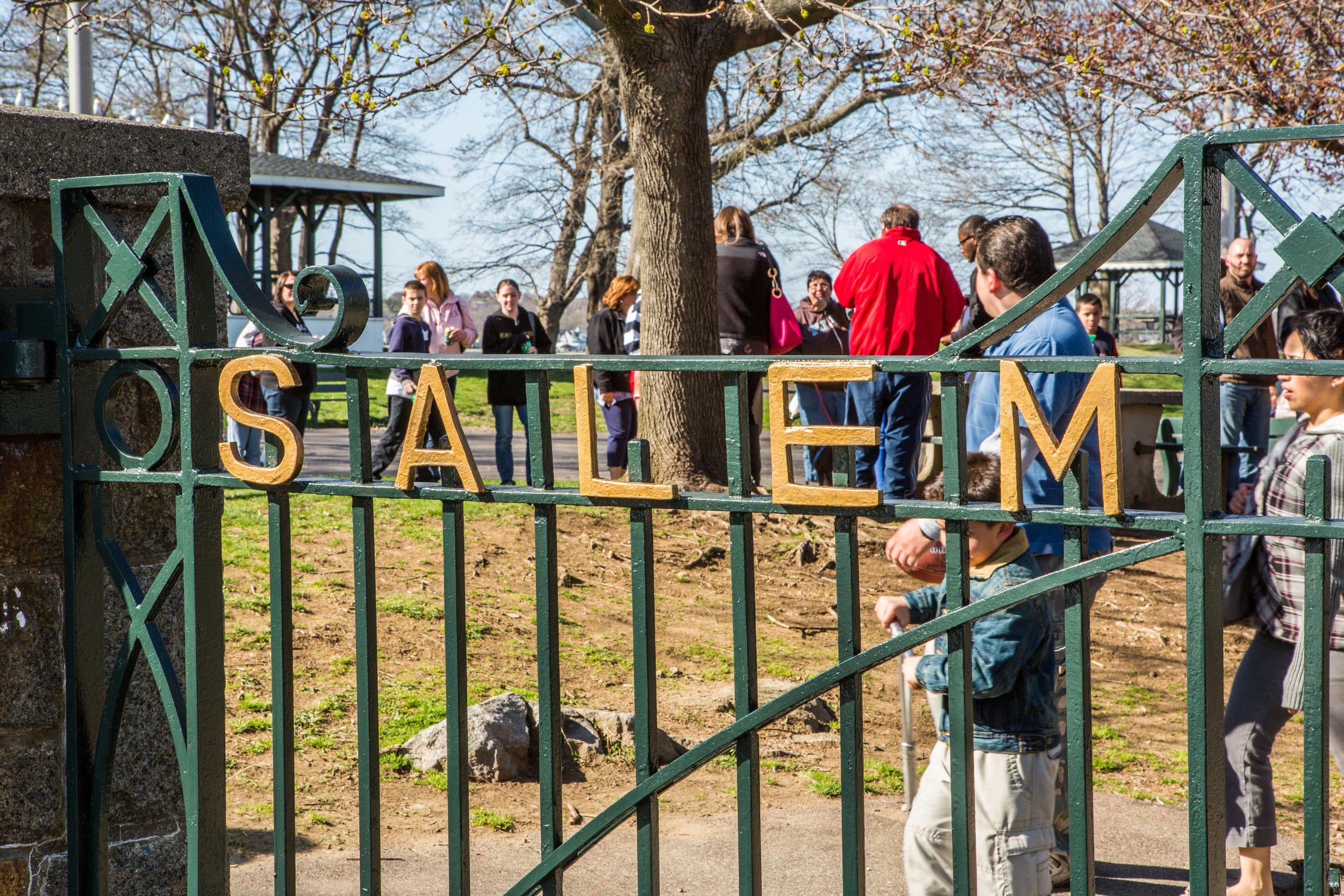 The Salem Willows Gates