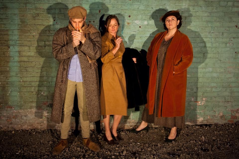 Chris Martel, Laura Crook and Carloine Watson-Feld - Photo by Catherine Bertrand