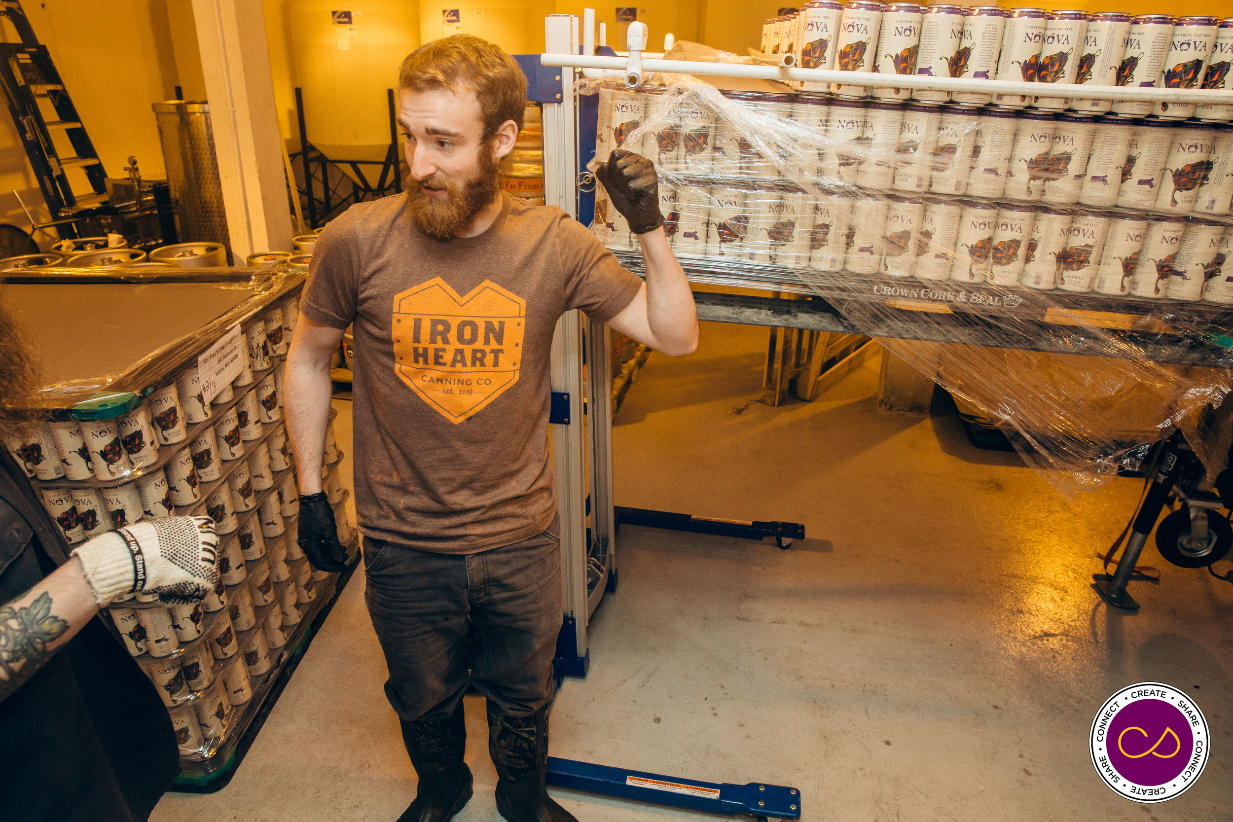Far From the Tree Cider and Iron Heart Canning Co.