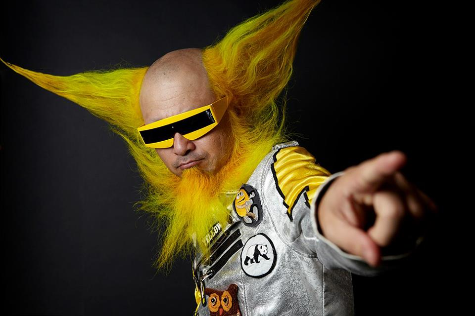 The documentary  Mad Tiger follows Peelander-Z  which makes it's Massachusetts premiere on Sunday. Photo by Daisuke Yoshida.