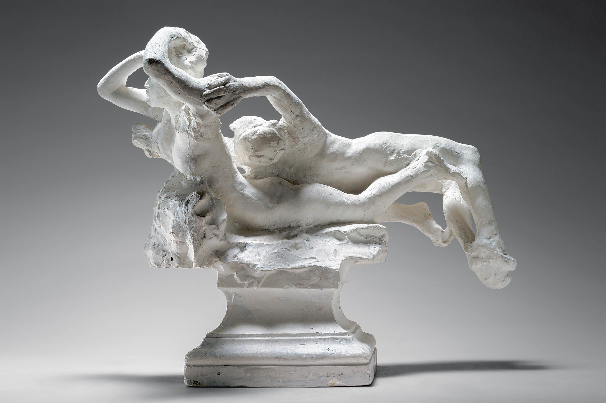 Auguste Rodin. Fugit Amor, about 1887. Plaster. Musée Rodin, Paris, S.2181.