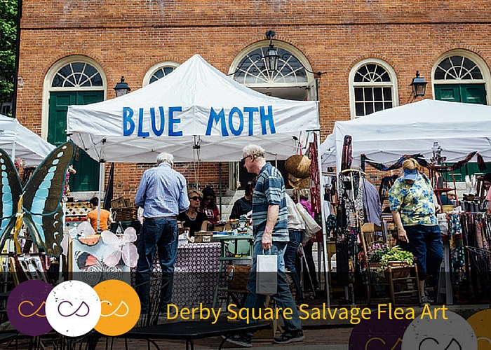 Derby Square Salvage Flea art Market
