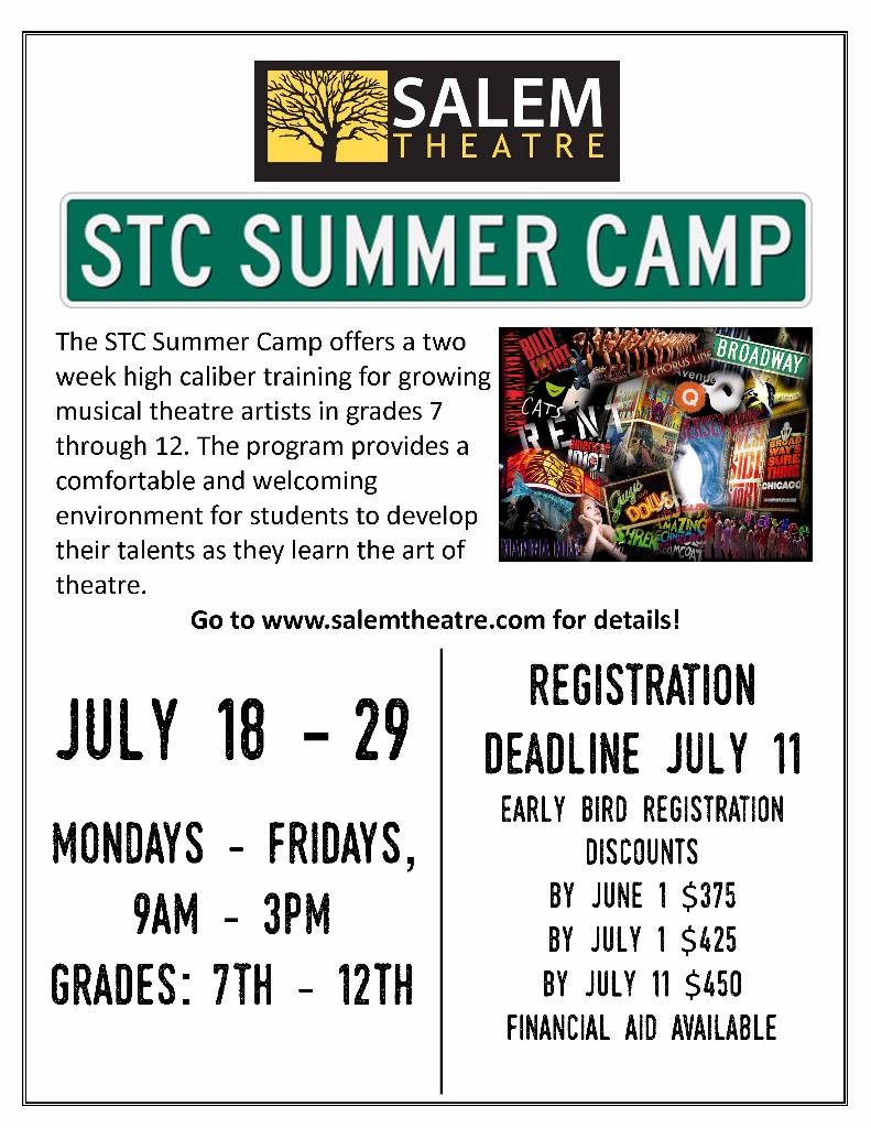 STC Salem Summer Theatre Camp