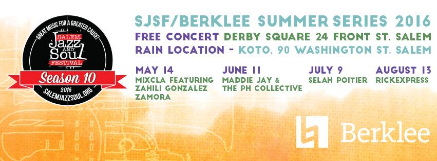 Jazz Fest Derby Square Series Salem MA