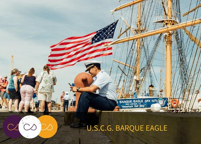 USCG Barque Eagle Salem MA