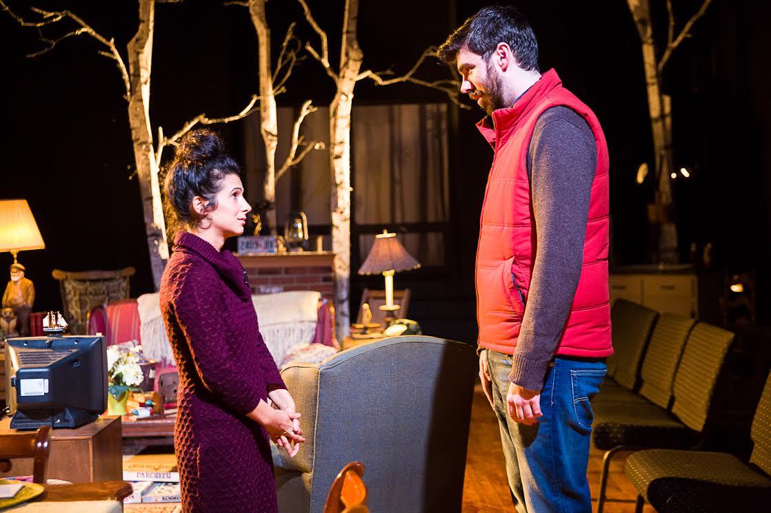 Caroline Keeler as Hillary and John Manning as Ian.