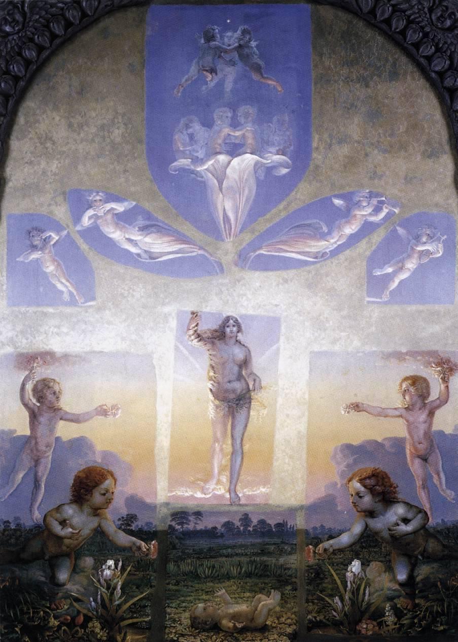 """Phillip Otto Rung, """"Der Morgen"""", 1808"""