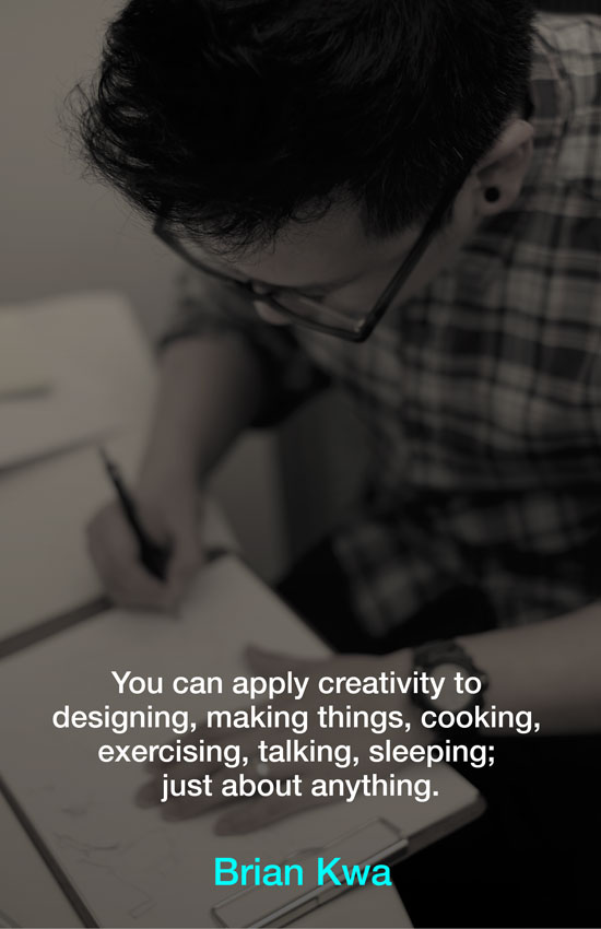 Creativity poster - Brian Kwa