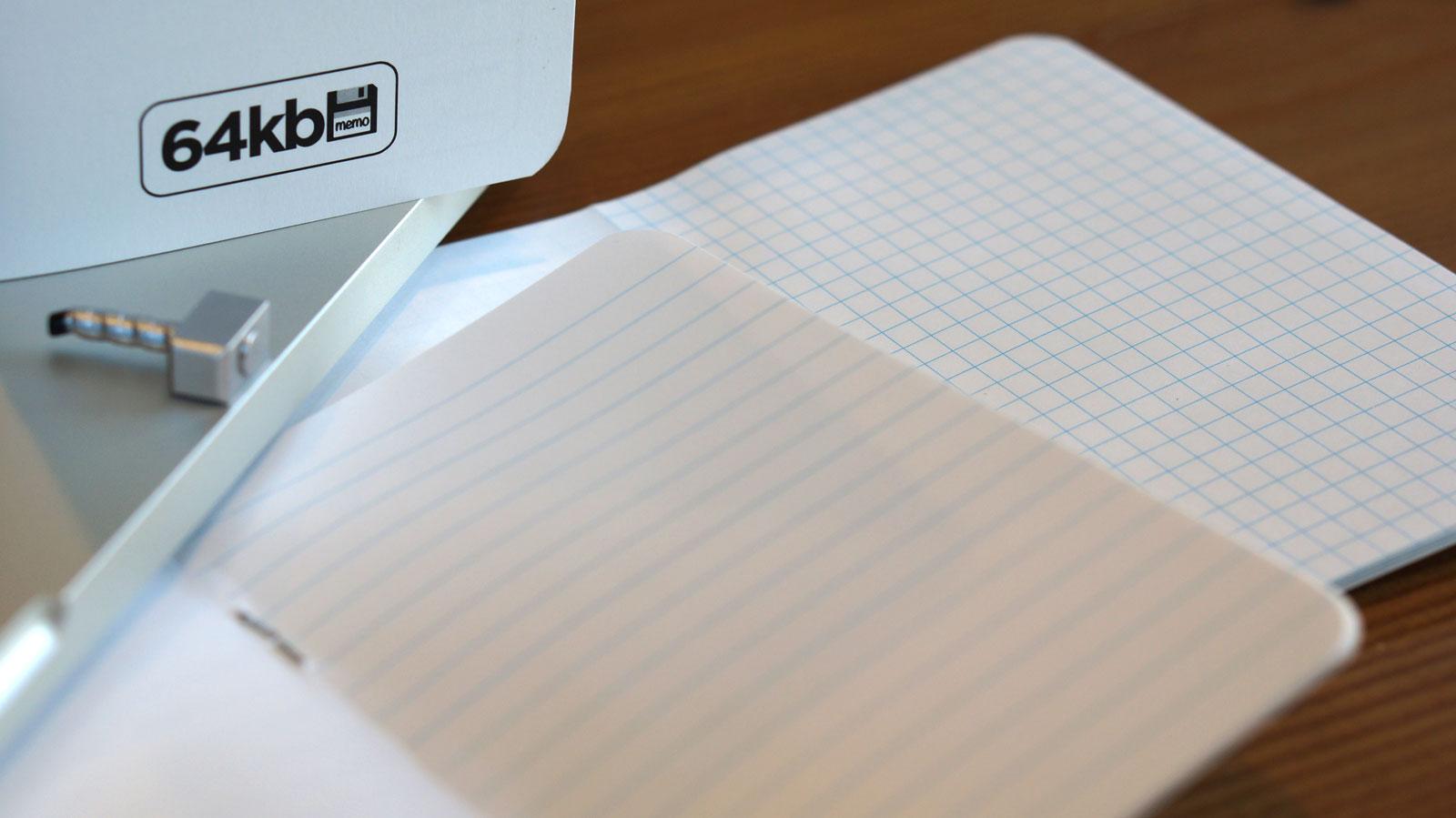 Hybrid book: Half-blank, half-ruled