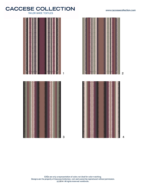 Stripe design ideas for hand knotted area rugs.