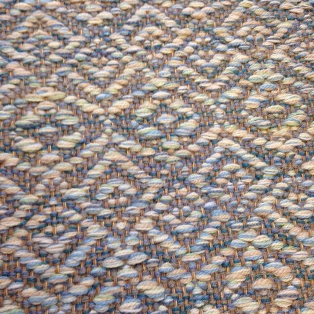 Cordelia handwoven rug.