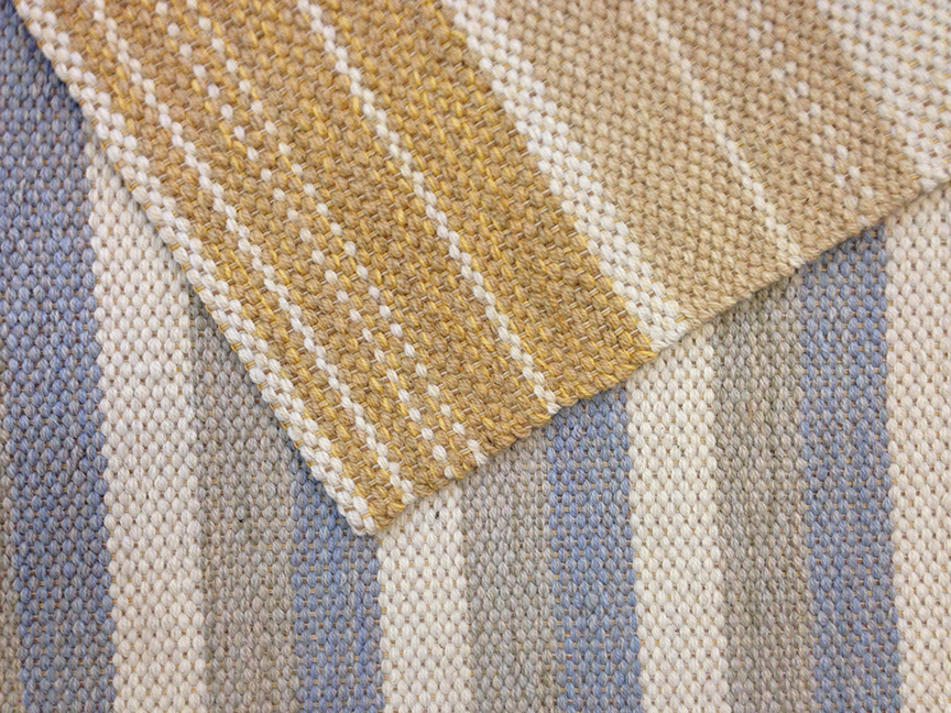 Stripes Hand woven rug