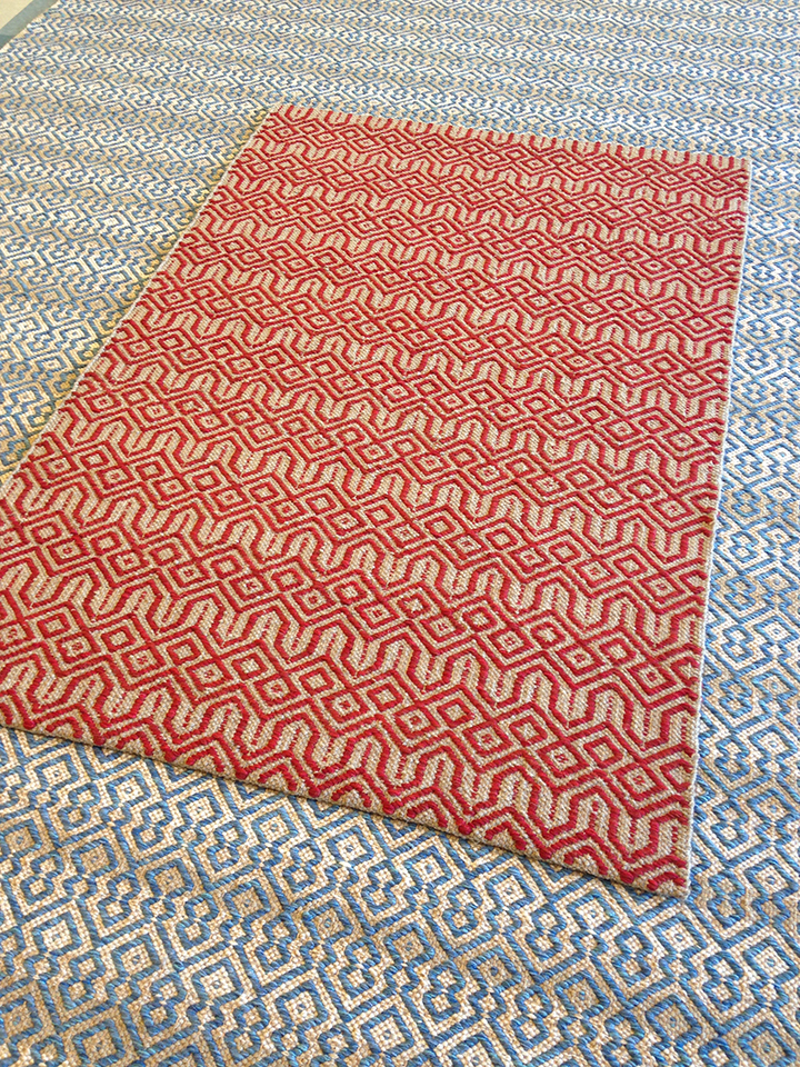 Shadow weave and Steeple2 by True North Textiles.