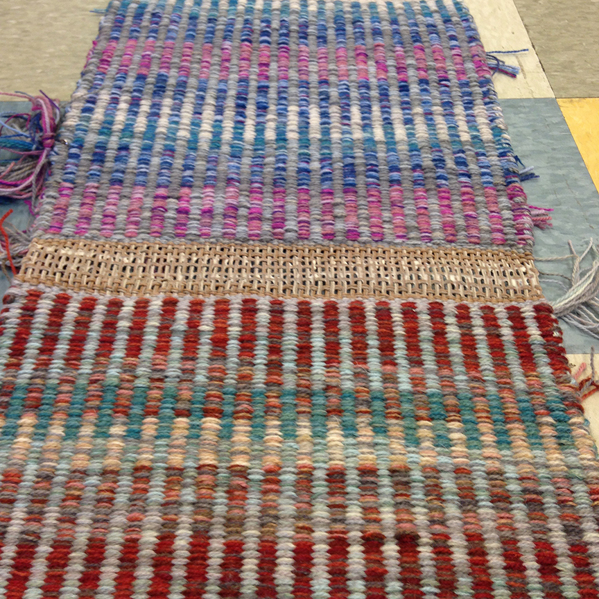 Columns sample blanket