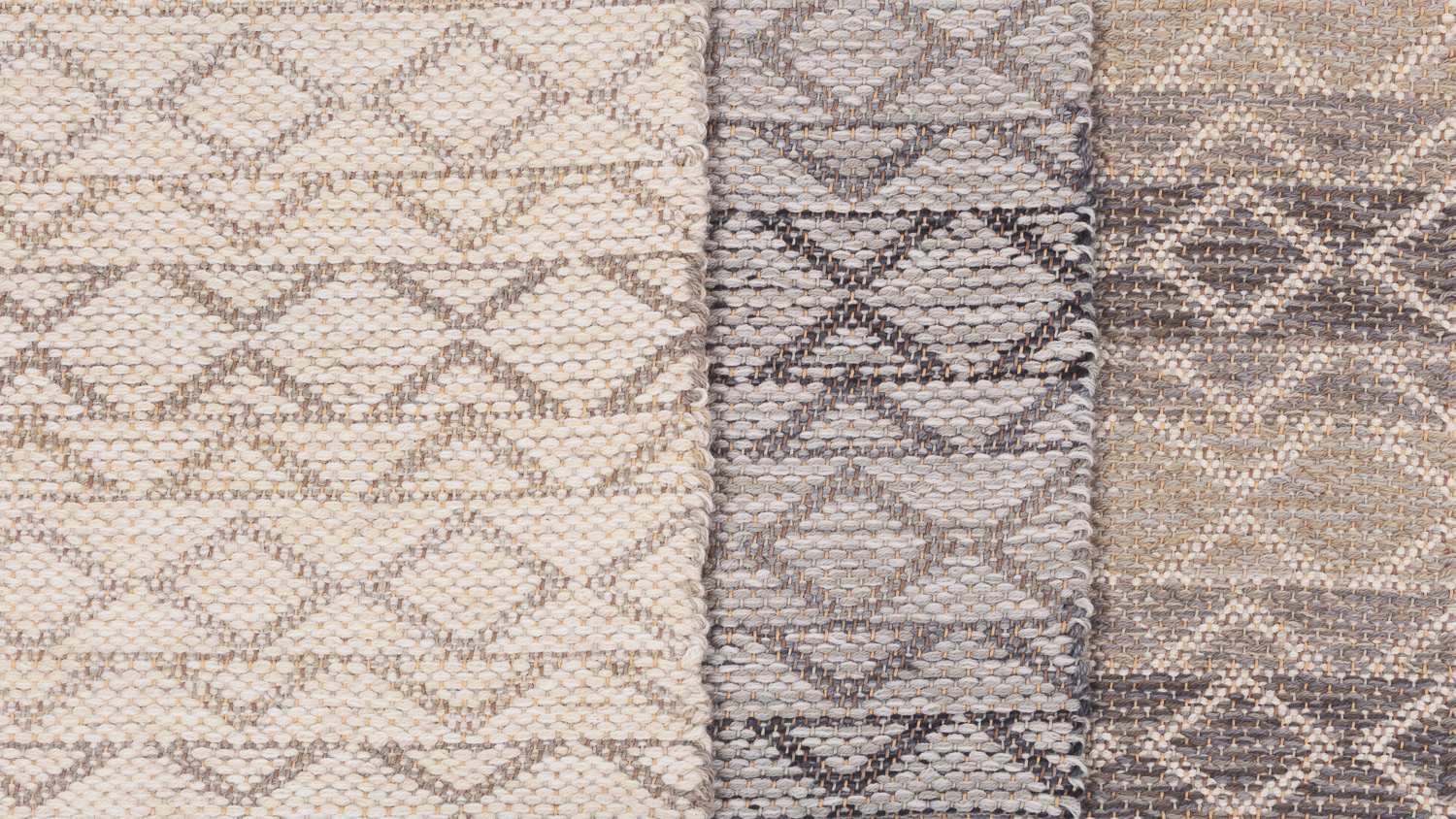 Madison Triangle in Cream, Grey and Taupe