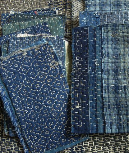 Boro notebooks.