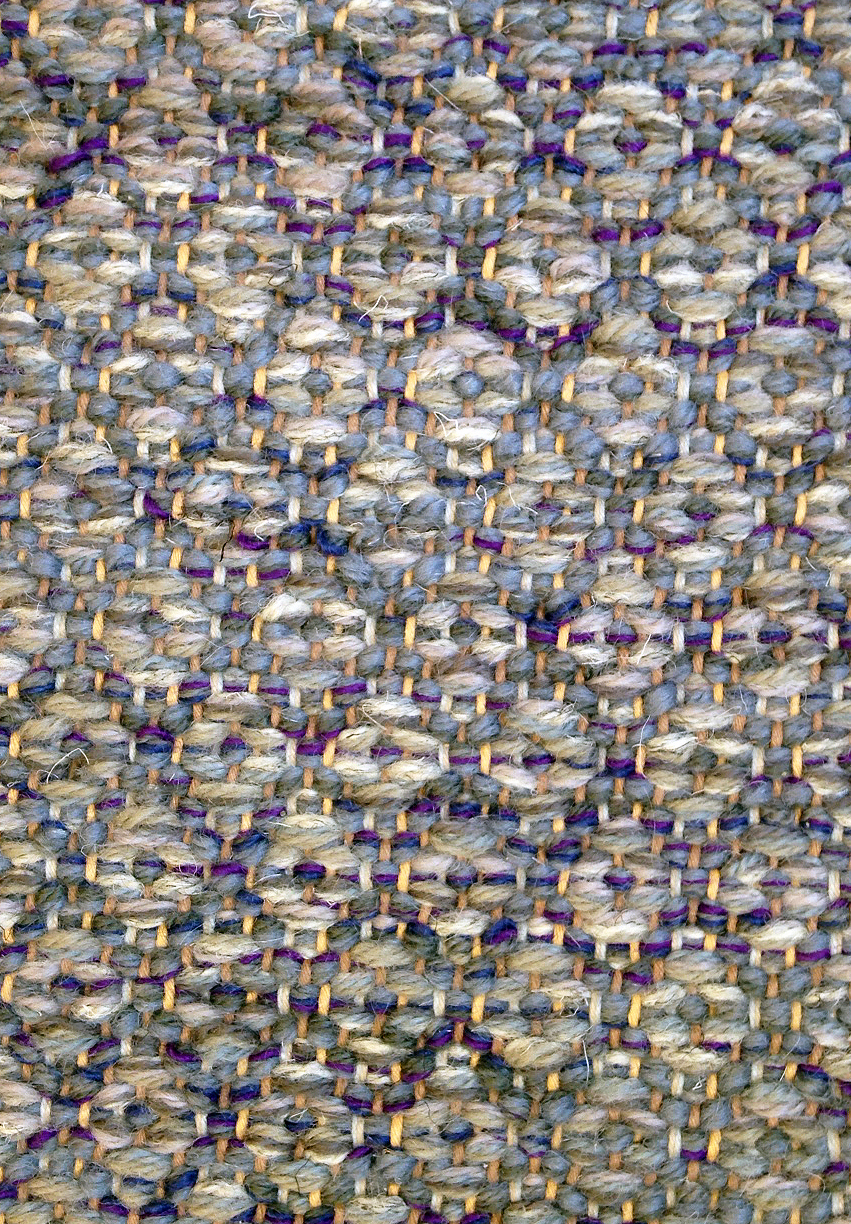 Point weave at True North Textiles