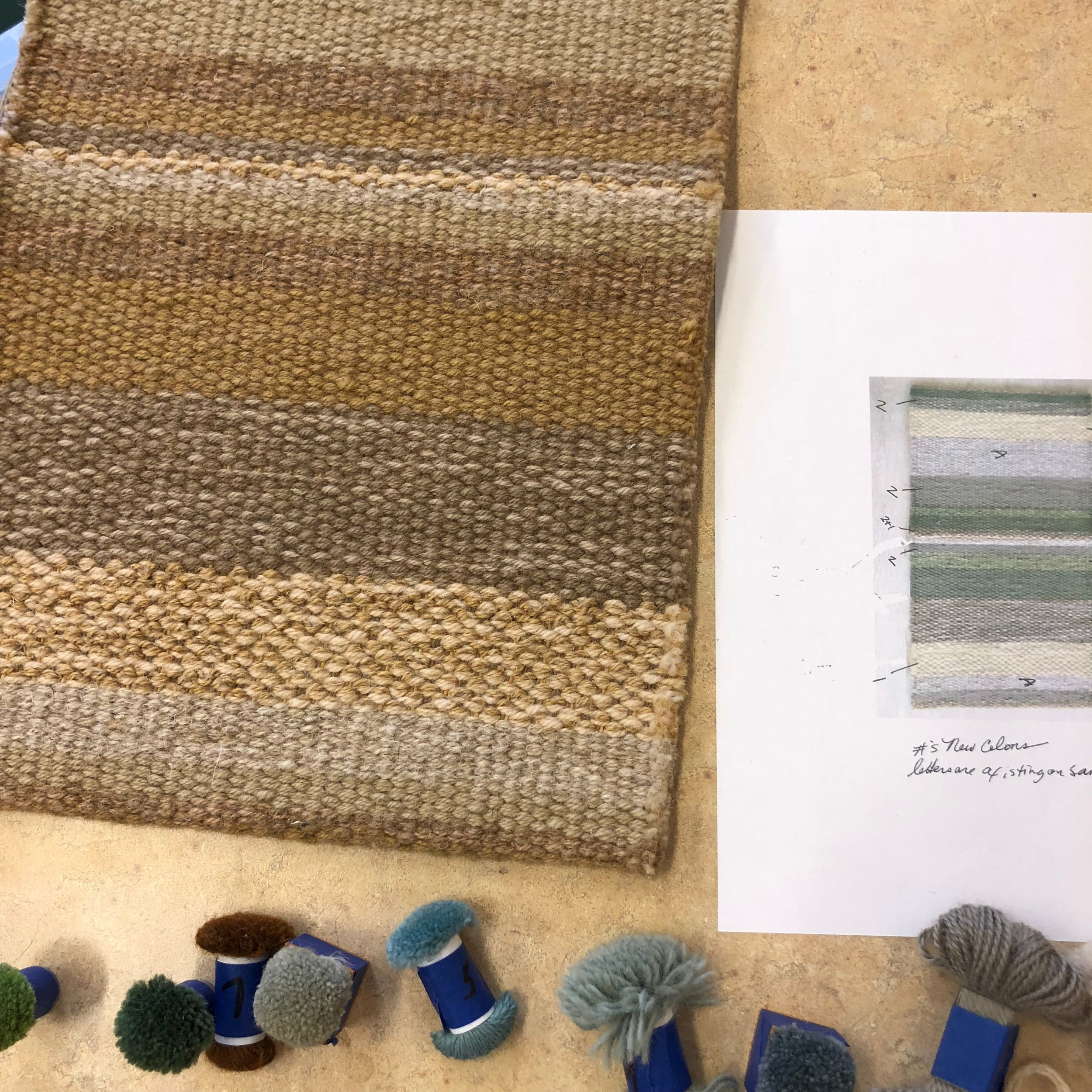 Inspiration stripe sample