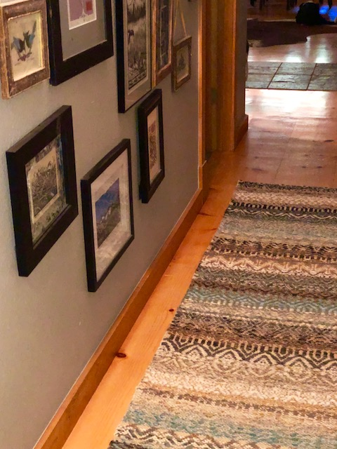Rug in its Leavenworth, Washington, home. (Photo courtesy Patti Bosket)