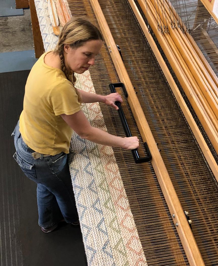 Aurora weaving