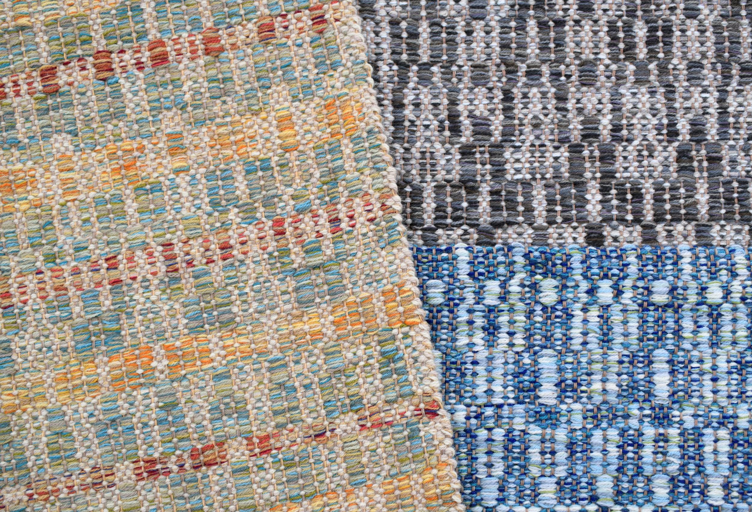 Colors of Matrix rugs.