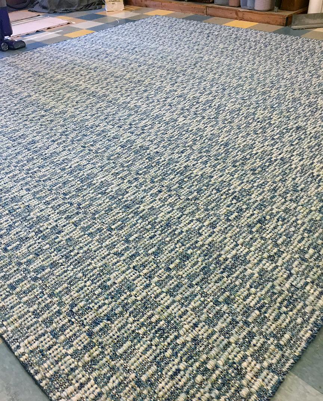 Finished custom rug