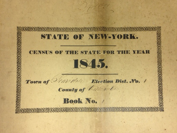 The 1845 census book contains a wealth of information, listing the names of all property owners and their answers to 48 questions—including where they came from, how much land they owned and even the specific crops they were growing.
