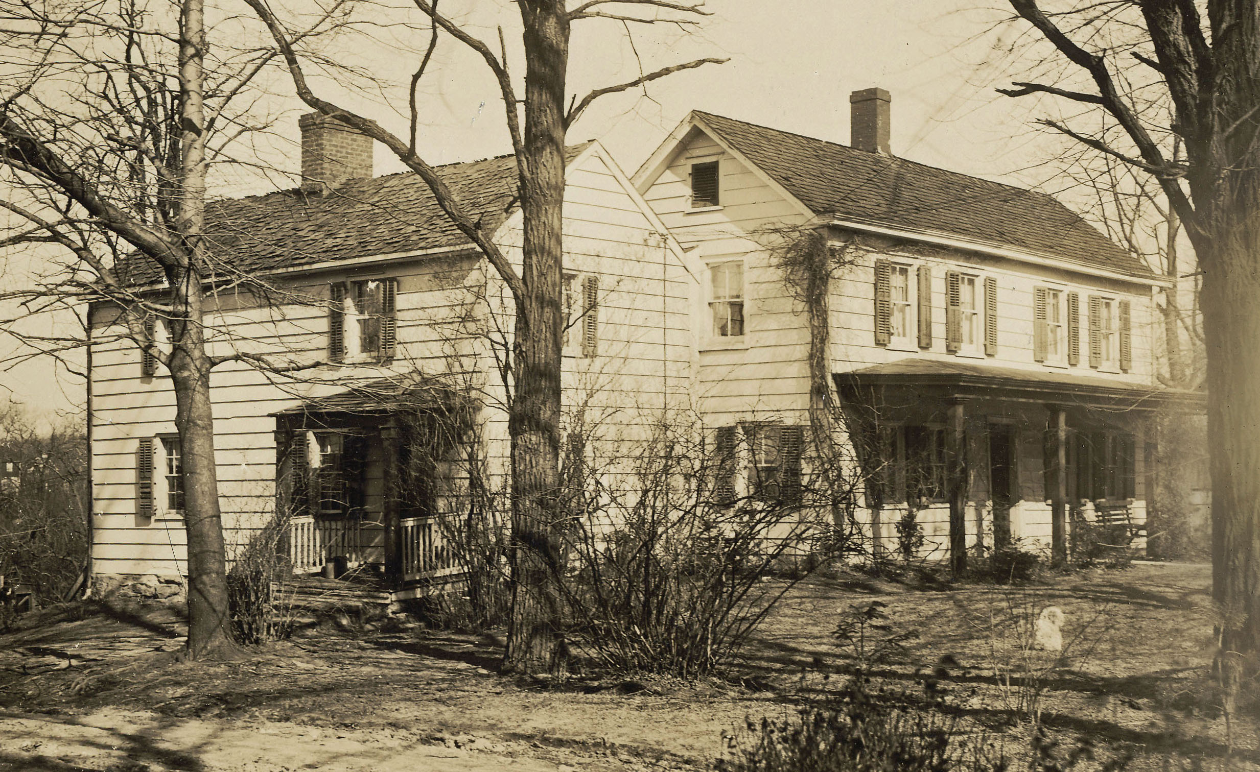 The Cudner-Hyatt House, circa 1900.
