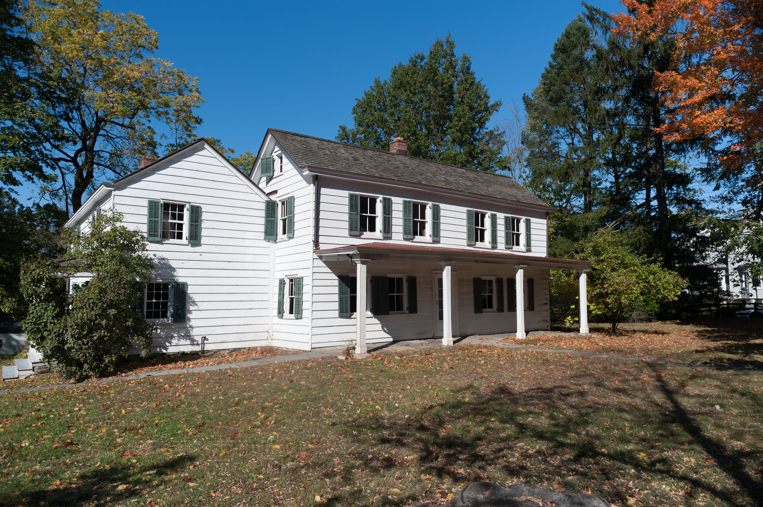 The Cudner-Hyatt house,one of Scarsdale's earliest pre-Revolutionary farmhouses.