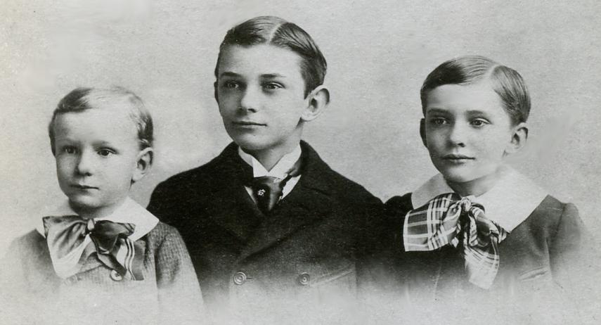 Sarah's surviving sons, John, Caleb, George.