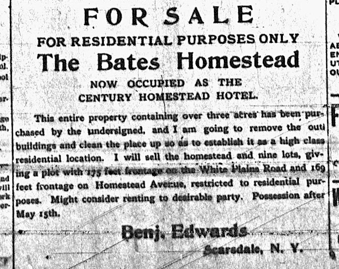 Scarsdale Inquirer, March 21, 1907