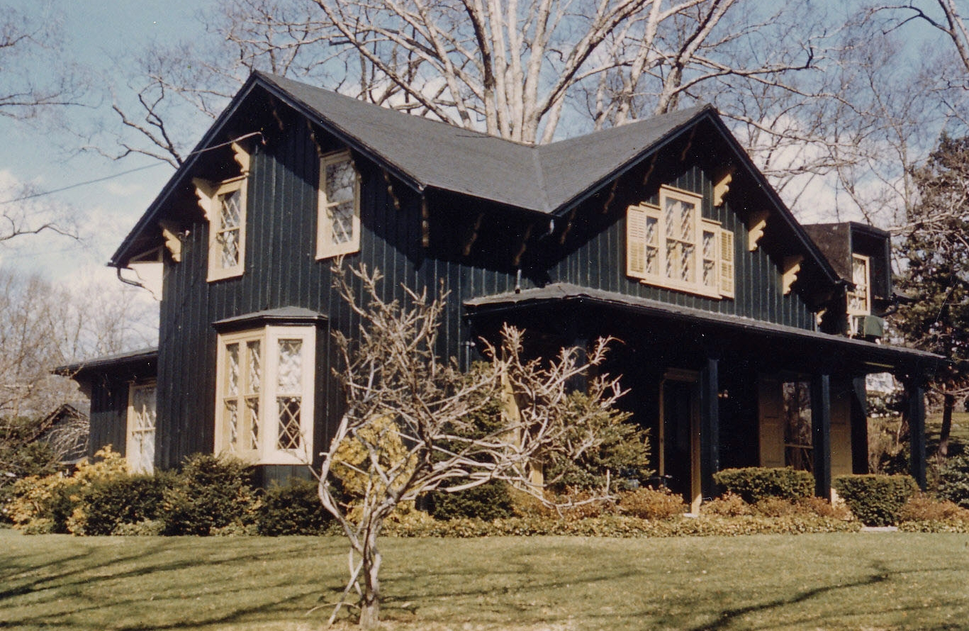 The Fleming-Hill House was built circa 1852.