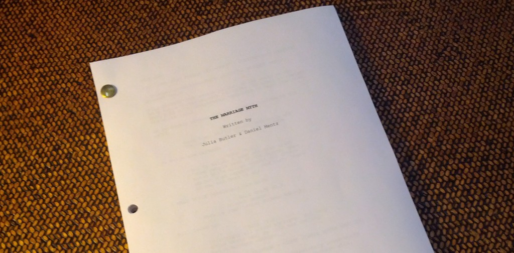 The Marriage Myth (Screenplay) - A broad, romantic comedy