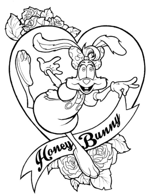 Regina Rabbit Tattoo by Rey Arzeno