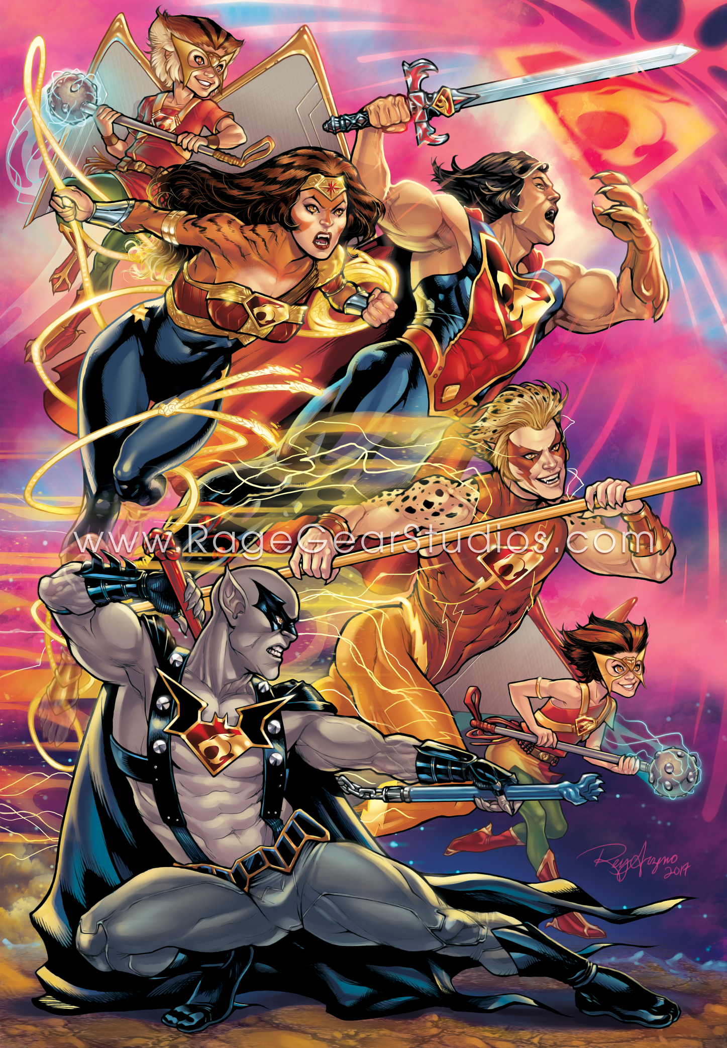 Thunder League by Rey Arzeno