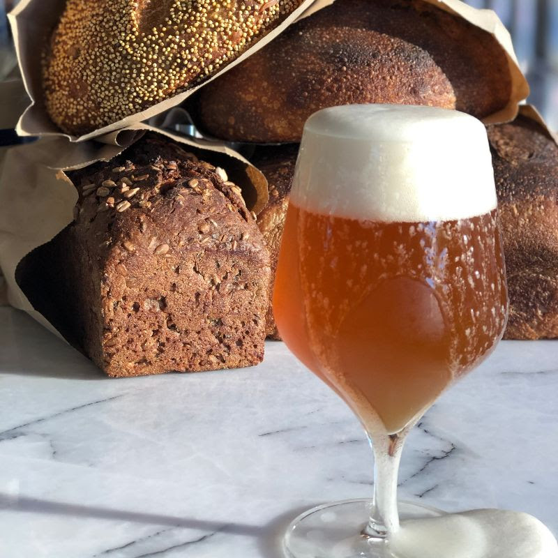 beer in bread