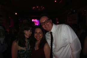 April 2009, M.N.KINSKI celebrating at the Entre Nos after party at the Tribeca Film Festival with director, Gloria La Morte and producer, Joseph La Morte.
