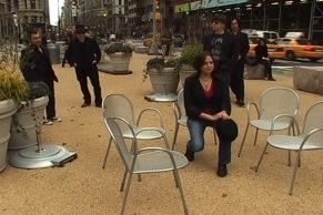 November 2008, Shooting Begins on the Jill Stevenson Band Documentary. M.N.KINSKI filming and directing.